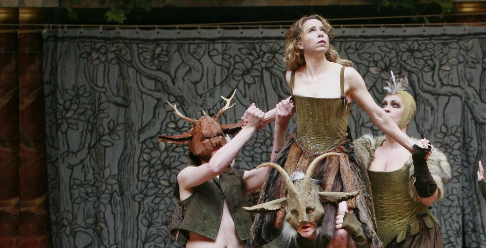 Shakespeare's Globe's 2013 production of 'A Midsummer Night's Dream'. Photo: Shakespeare's Globe