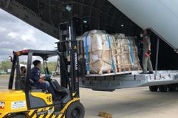 Sabah gets much-needed Covid-19 test kits, medical supplies flown in
