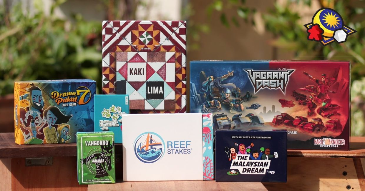 Homegrown tabletop games have been slowly and steadily gaining traction in recent years. Photo: TTGDMY