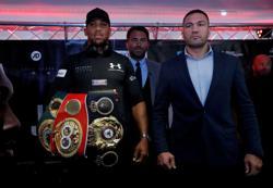 Joshua-Pulev heavyweight title fight postponed - promoters