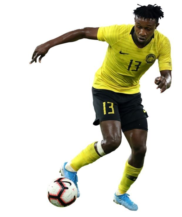 An important man: Winger Mohamadou Sumareh is an asset to Pahang. He has been with the team since 2017. Pahang is coached by Dollah Salleh.