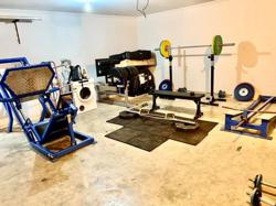 Beasley got it covered as he sets up mini gym for cyclists