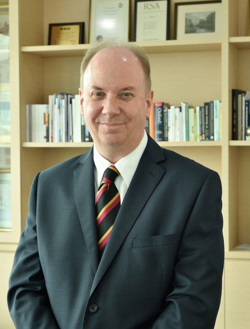 Sunway University vice chancellor Prof Graeme Wilkinson