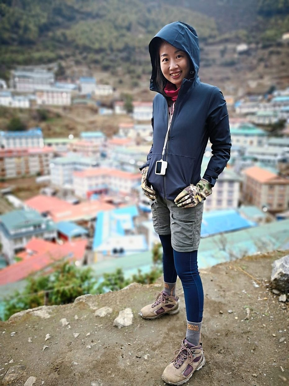 While keeping physical copies of pictures is great, avid photographer Ooi prefers to compile her travel photos online. — SHAHNON OOI