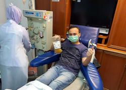Ex-Covid-19 patient ecstatic his blood could be used to help others