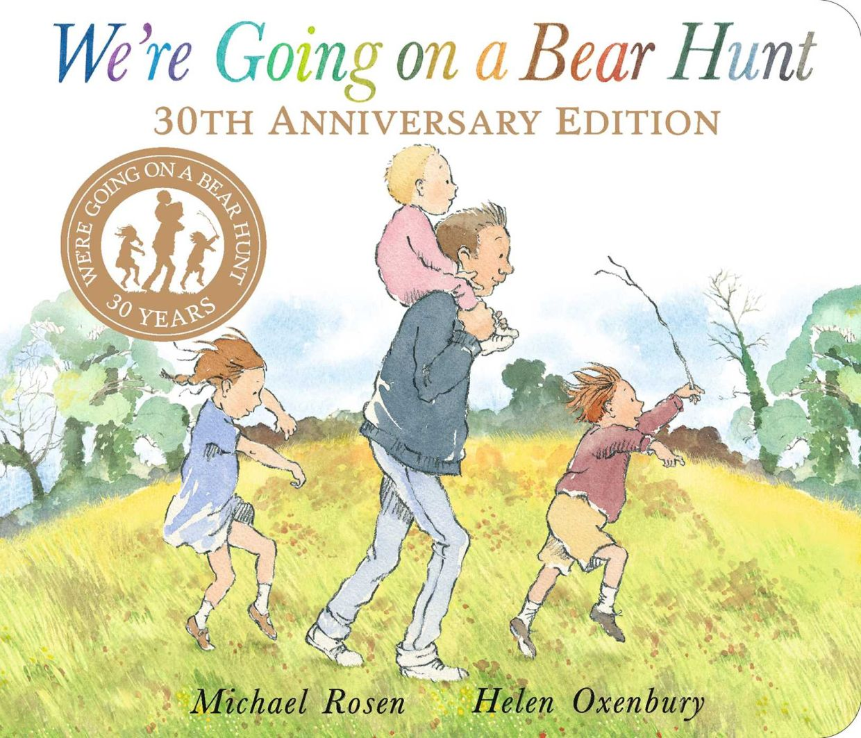 Michael Rosen's book which has inspired a global 'bear hunt' during these Covid-19 times.
