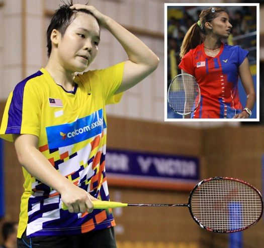 Too far behind: Jin Wei and Kisona's (pic, below) world rankings are low and it will be tough for them to chase the leading pack when tournaments resume.