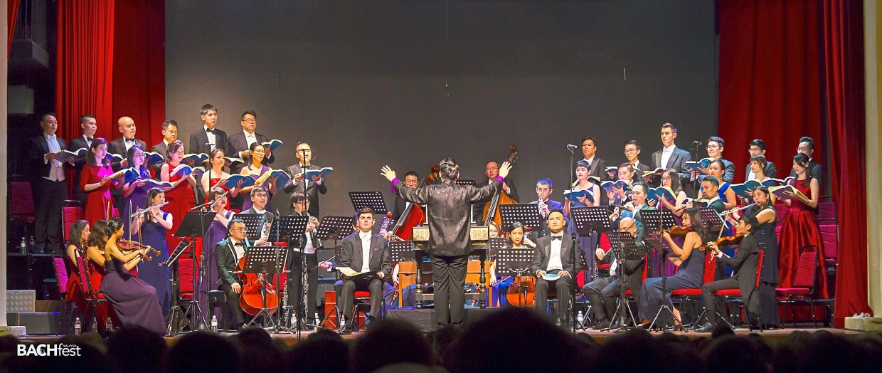 Bachfest Malaysia, performing 'St Matthew Passion' in KL in 2019. Photo: Essence Photograph