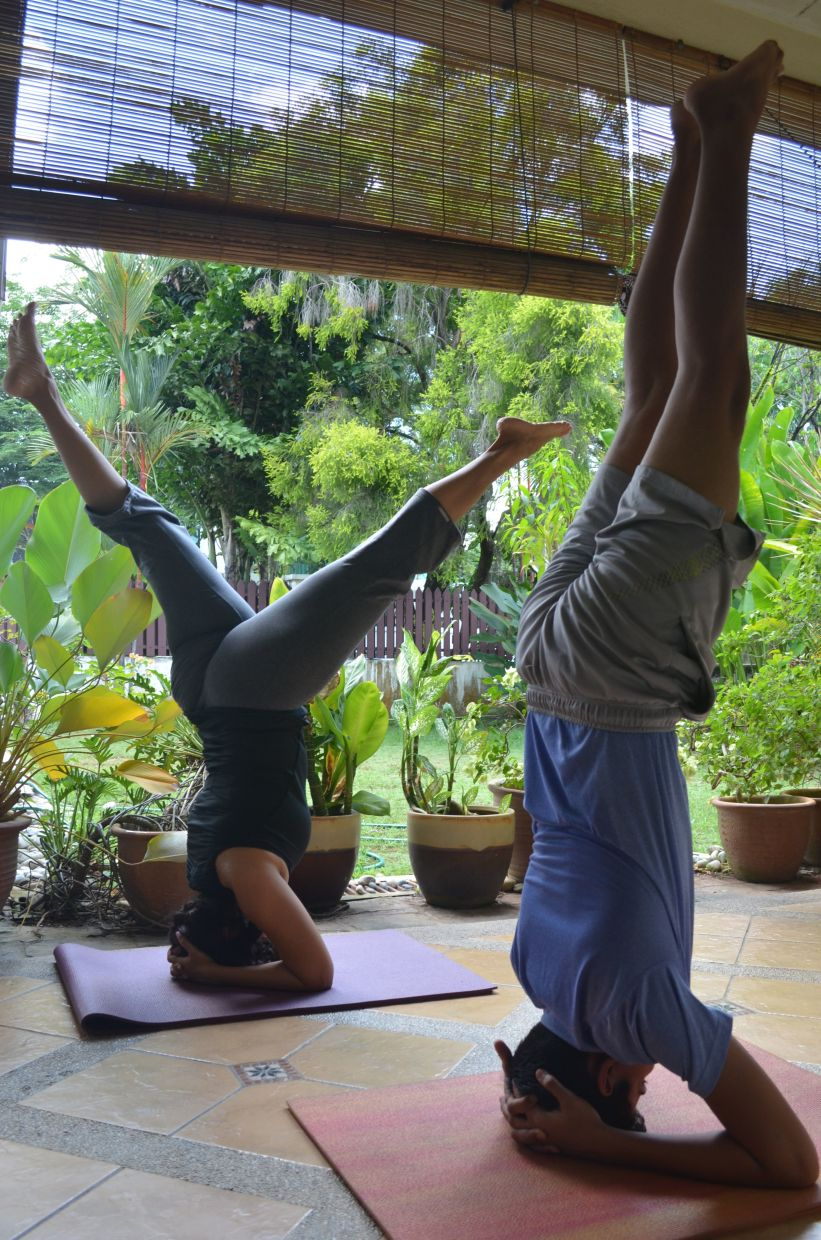 Besides practising yoga daily, Shailaja and Krishan have also started making YouTube videos on yoga and fitness.