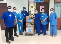 Group gives medical supplies worth RM23,000 to hospital in Ipoh
