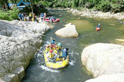 White water rafting in Malaysia for beginners
