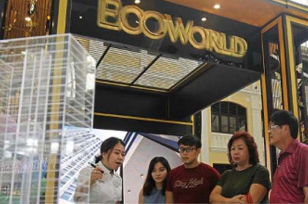 Eco World Development Bhd has the highest net gearing at 73.5% with a manageable interest coverage of 3.2 times, followed by Crest Builder Holdings Bhd's 66.3%.