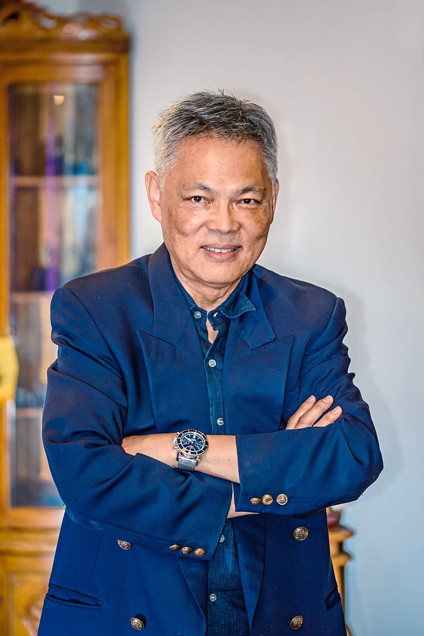 Malaysian Association for Shopping and High-Rise Complex Management past president Richard Chan.