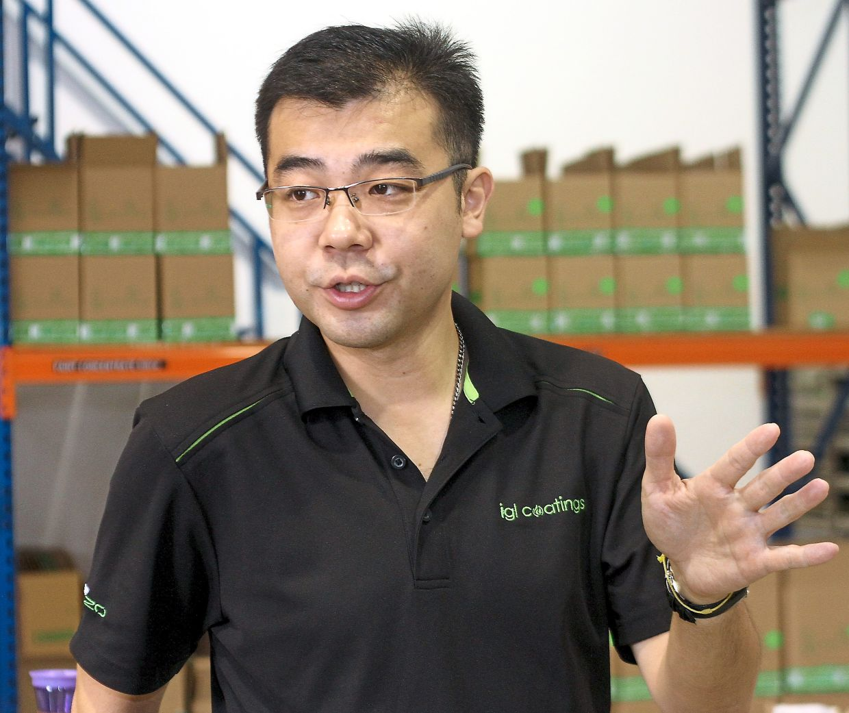 IGL will ramp up R&D into virus eliminating coatings to return to higher margin products, says Keong.