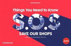 AirAsia initiates SOS campaign to help local businesses