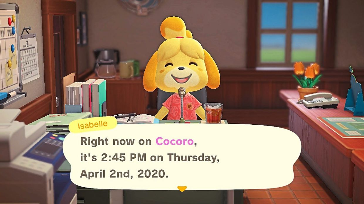 Isabelle, the mascot for Animal Crossing series, continues to be a ray of sunshine in an already saccharine video game.