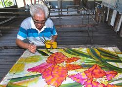 Sabahan crafts successful niche in batik industry