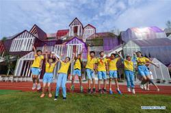 Nearly one million students return to school in China's Zhejiang
