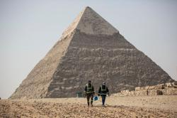 Take a virtual tour of Egypt's empty tourist landmarks