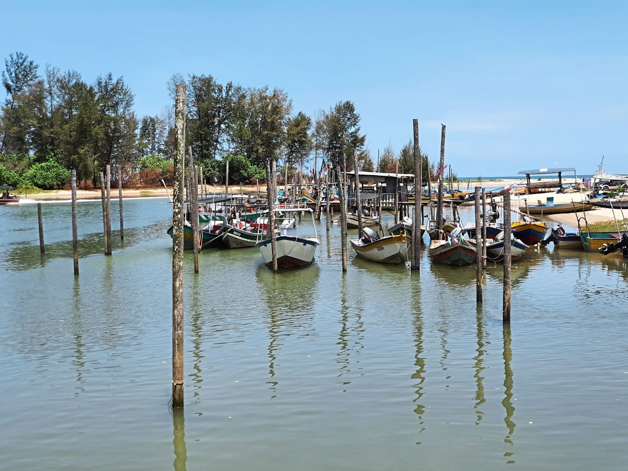 Fishermen cannot go out to sea during the movement control order.