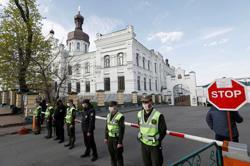 Kiev authorities seal off Orthodox monastery that became coronavirus hotspot