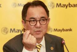 CEO: Maybank ahead of the capital, liquidity requirements
