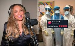 Mariah Carey gives Malaysian frontliners a shout-out