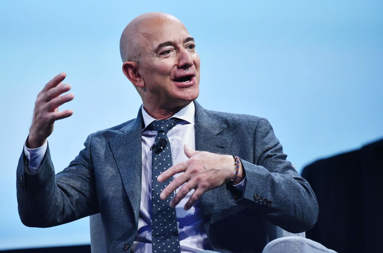 Jeff Bezos gains US$24bil while world's rich reap bailout rewards ...