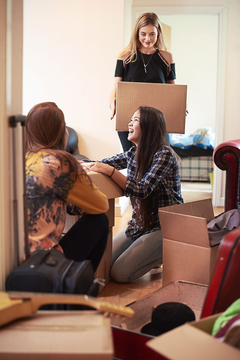 Grouping items by category helps you to get rid of stuff. Photo: AFP