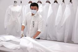 Fashion designers help produce PPE