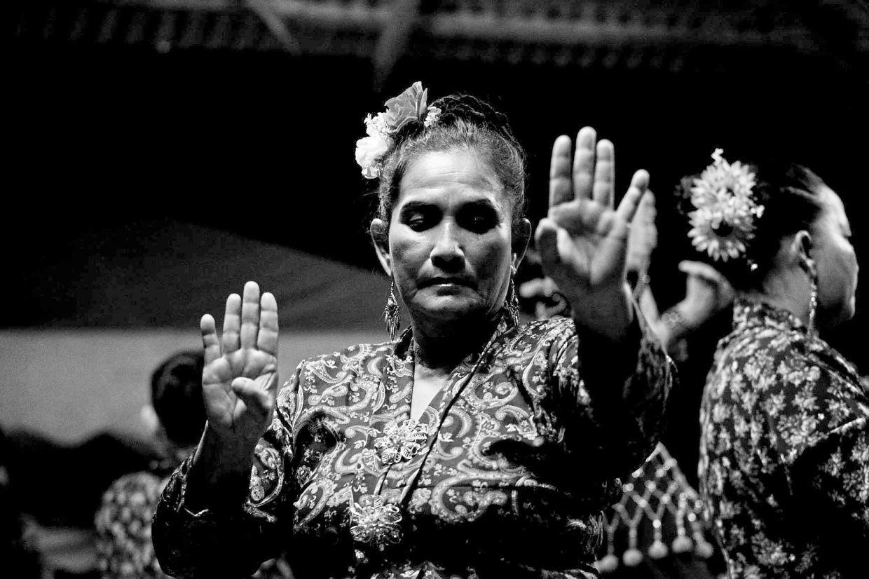 Ropeah Kancil, a Mak Yong actress from Kuala Besut's Kumpulan Mak Yong Cahaya Matahari. Photo: Karl Rafiq Nadzarin