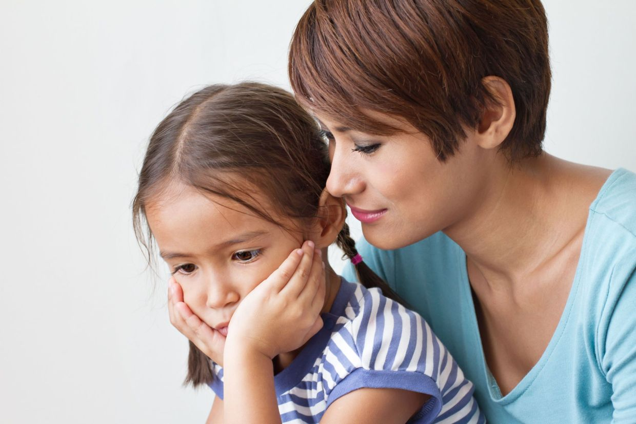 Children can sense if a parent it worried or afraid so make sure you are calm and reassuaring when talking to your children about Covid-19.