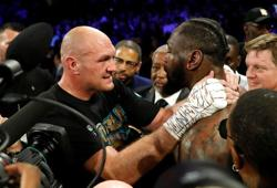 Wilder says Fury not yet champion after 'zombie' fight