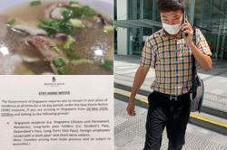 Singaporean who breached stay-home notice to eat bak kut teh convicted