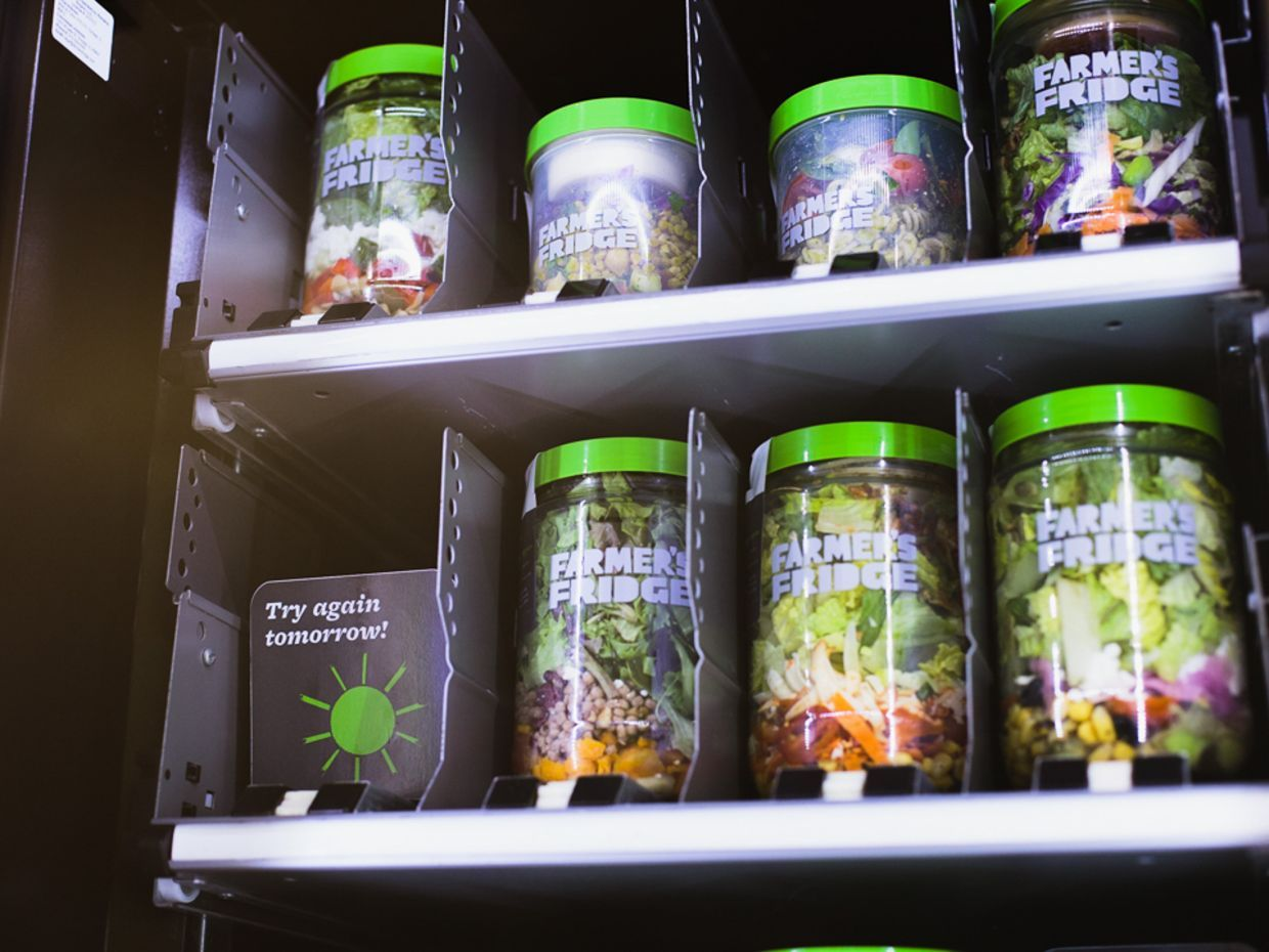 A vending machine. Now plans are underway to have up to 1,000 next generation artificial intelligence (AI) vending machines.