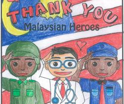 Starchild readers show their appreciation to our frontliners