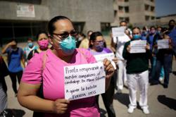Protests erupt along Mexican border after deaths at Honeywell, Lear
