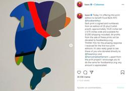 KAWS offers limited edition prints to help various charities