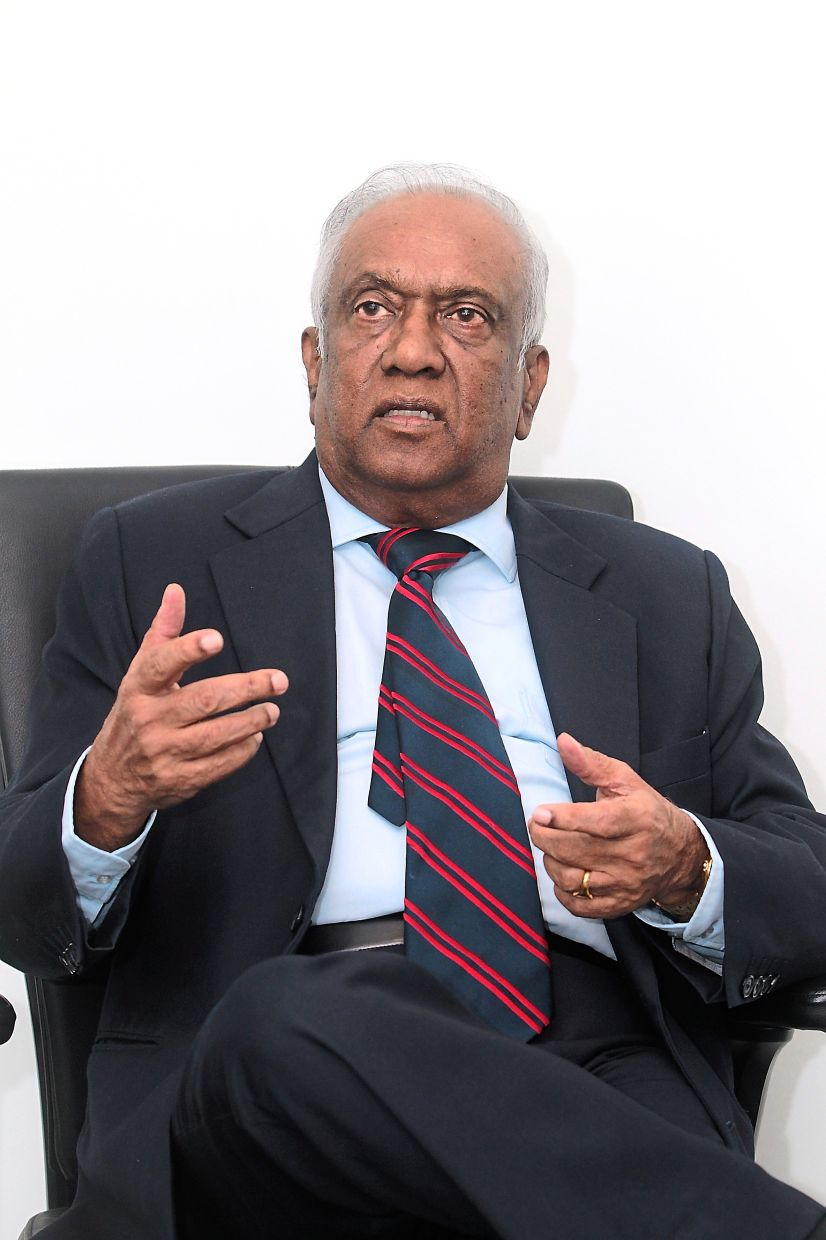 Navaratnam: The economy will suffer if we have (unqualified) politicians run GLCs.