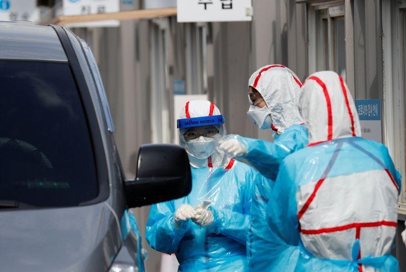 South Korea S New Coronavirus Cases Fall To Single Digits For