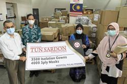 Foundation donates protective gear to hospital