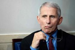 US infectious disease expert Fauci rejects coronavirus lab-made conspiracy theory