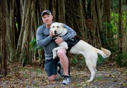 Training shelter dogs to be service dogs for military veterans