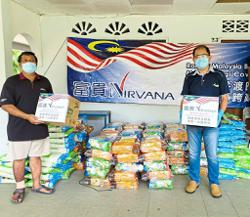 Group come together to give Orang Asli food aid