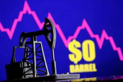 Crude oil distress may be bullish signal for stocks