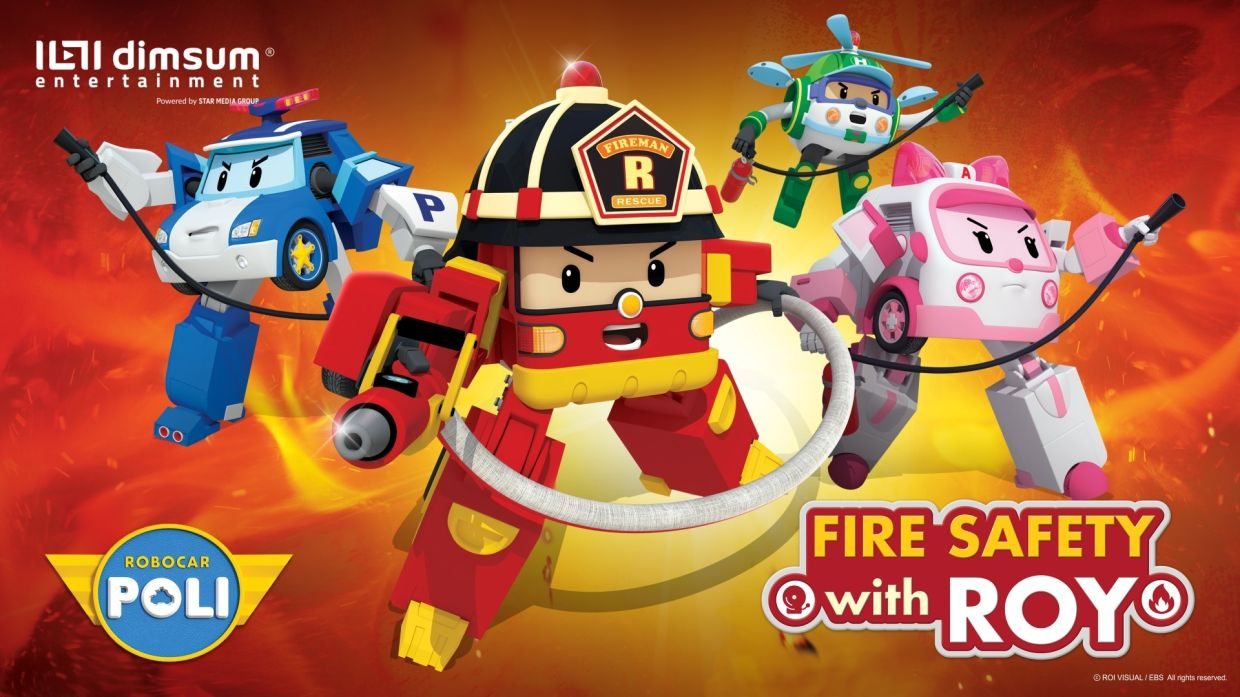 Fire Safety With Roy. Photo: dimsum entertainment