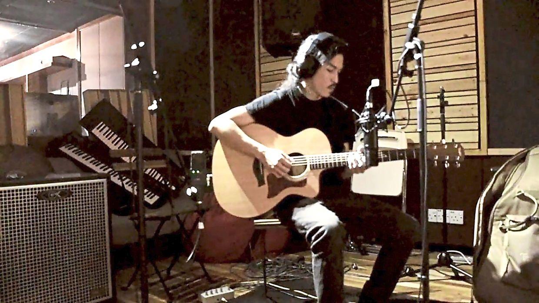 Daniel Lau has moved all his music lessons online via video calls.