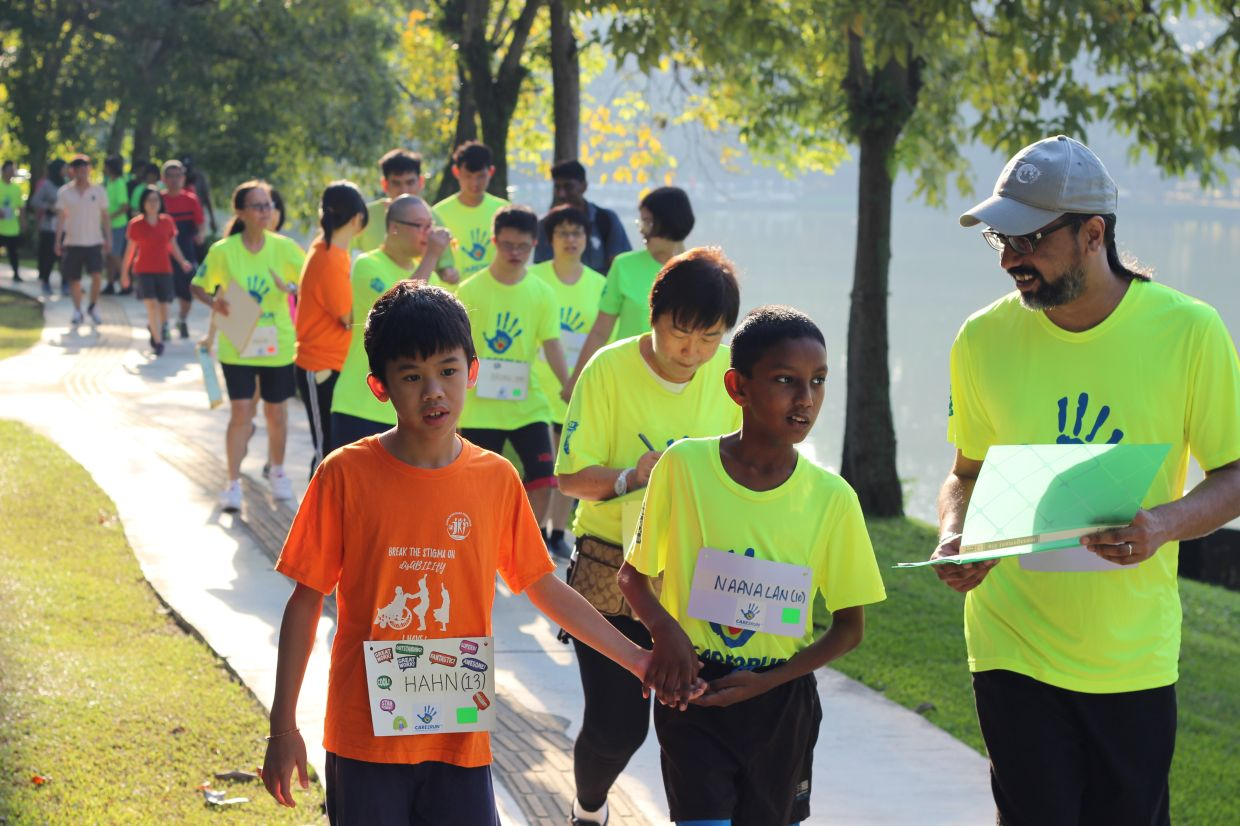 Thanks to Care2Run sports activities, children with special needs have an opportunity to shine.