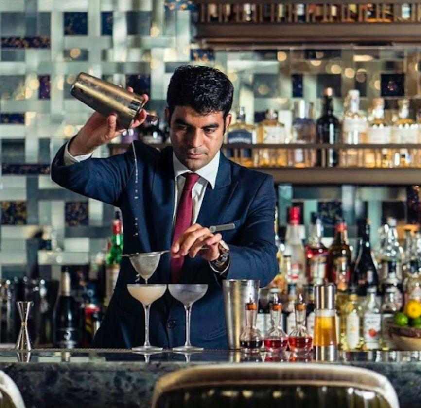 Bar Trigona head bartender and bar manager Ashish Sharma.
