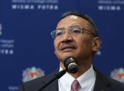 Malaysia calls for calm and stability in South China Sea after 'tagging' incident involving Chinese, M'sian vessels